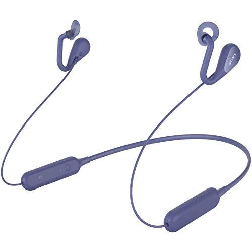 ソニー ワイヤレスオープンイヤーステレオイヤホン SBH82D : Bluetooth/ながら聴き/NFC対応/マイク・操作ボタン付 2019年モデル ブルー SBH82D L