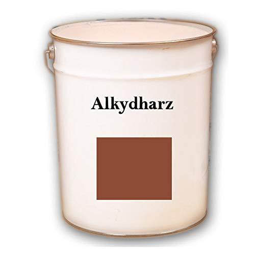 5kg RAL 8004 Kupfer ziegelrot Alkydharz matt Wandbeschichtung Wandfarbe Alkydharzfarbe