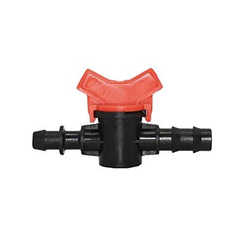 KQYAN 16 mm 20 mm Manguera de Agua del Grifo Conector Jardín Tap 16 a 1/2 de la Manguera de riego de 20 mm Válvula Grúas Grifo Conector Adaptador 4PCS (Color : 20mm B)
