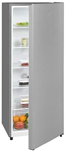 Exquisit Kühlschrank KS320-V-010E inoxlook | Standgerät | 242 l Volumen | Inoxlook