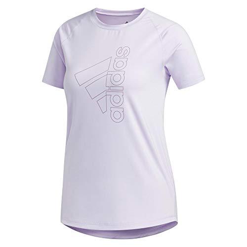 adidas Koszulka damska Tech Bos, Prptnt/Legprp, XS