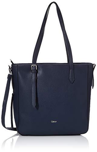 Gabor Tasche Damen, Agnes, Blau, 36x10x32 cm, Gabor Tasche Damen
