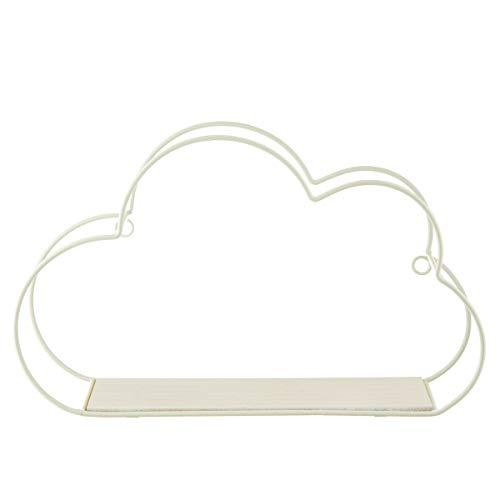 Sass & Belle - Mensola a forma di nuvola bianca