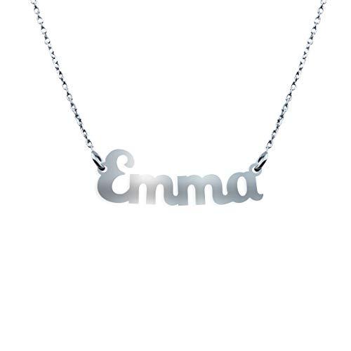 Collana con Nome in Argento (Emma)