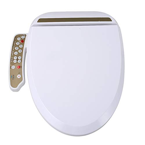 Non Electrique Chaud Et Froid Couverture De Toilette Intelligente,Self Cleaning Dual Nozzle Pression deau Ajustable Kit Douchette Bidet pour WC