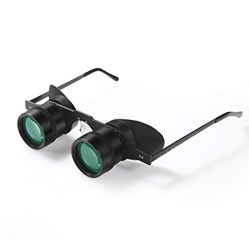 HD 10X34 10 Times Glasses Telescope - Vissen Telescope - Ultra Light Green Film - Shimmer Night Vision
