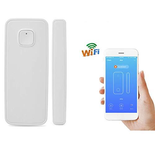 Deur raam alarm - akoestische inbraakbeveiliging met magnetisch - Draadloos Home Security Alarminstallatie - Sirene met 110 dB volume Intelligent WiFi