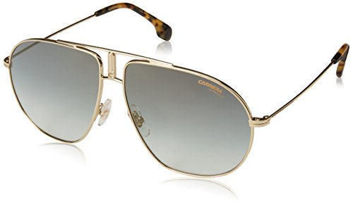 Carrera BOUND/S Pilot Sunglasses, Gold Havana/Green Flash, 62 mm