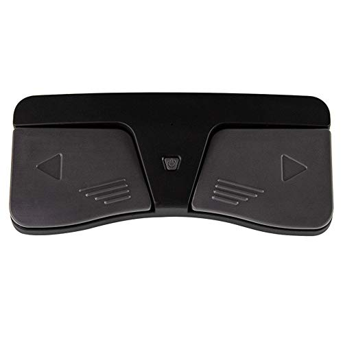 Grevosea Bluetooth Page Turner Pedal, Wireless Page Turner Pedal Bluetooth Fußschalter Controller Notenblatt Lesen Controller für Tablets
