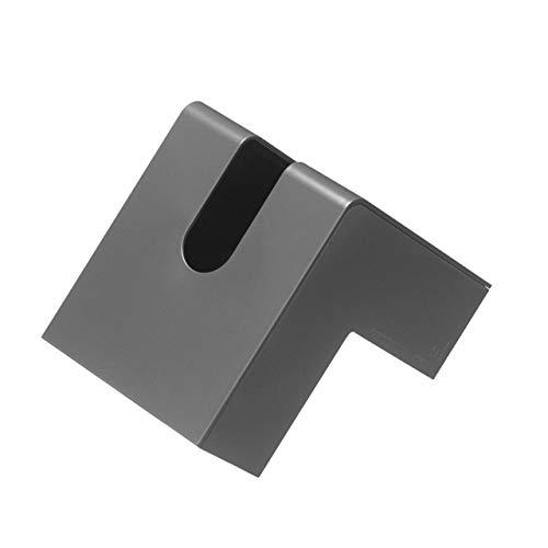 アッシュコンセプト プラスディー フォリオ ティッシュケース ブラック 1コ入