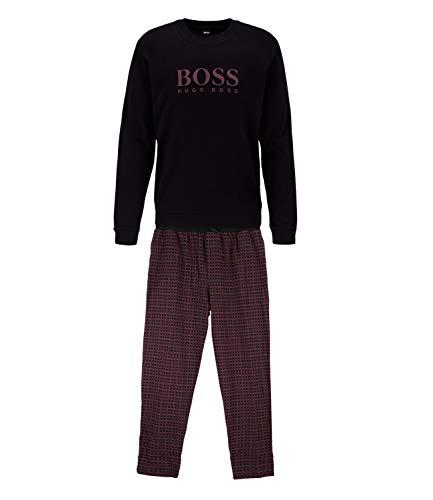 BOSS Herren Schlafanzug Relax Long Set schwarz (15) XL