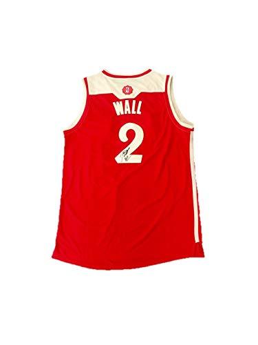 John Wall Washington Wizards (Christmas) Signed Jersey JSA - Autographed NBA Jerseys