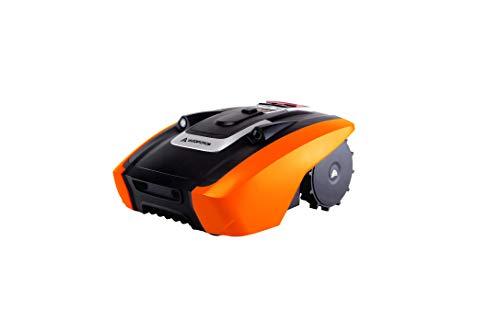 YARD FORCE Mähroboter AMIRO 350i bis zu 350 qm - Selbstfahrender Rasenmäher Roboter mit WLAN-Verbindung, App-Steuerung, iRadar Ultraschallsensor, Kantenschneide-Funktion und bürstenloser Motor