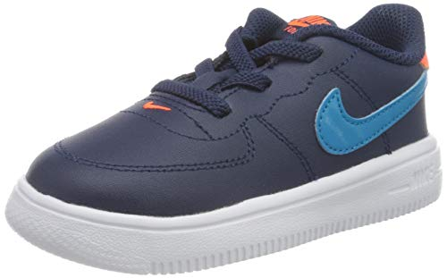 Nike Force 1 '18 (TD), Zapatillas Deportivas Unisex niños, Midnight Navy Laser Blue Hyper Crimson, 23.5 EU