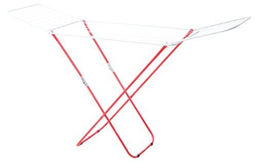 PAMEX - Tendedero Plegable de Hierro Pintado Rojo