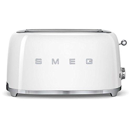 SMEG TSF02WHEU | Broodrooster 4 plakjes 50's Style | Kleur : wit