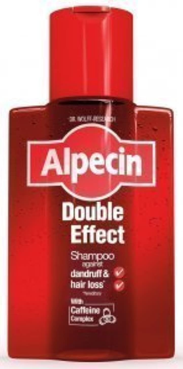マオリ日焼けトンAlpecin Double Effect Shampoo 200ml by ALPECIN [並行輸入品]