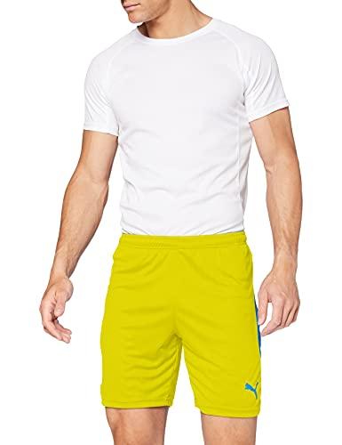 Puma Liga Shorts, Pantaloncini Uomo, Giallo (Cyber Yellow/Elec Blue), M