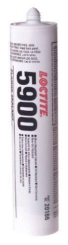 Loctite 212184 5900 Flange Sealant, Heavy Body RTV Silicone, 300 mL Cartridge, Black