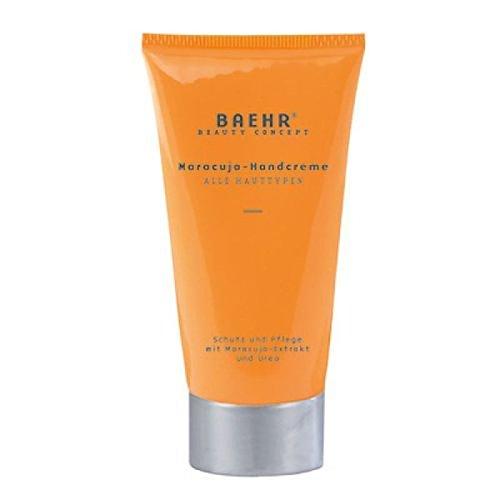 Baehr Maracuja - Crema de manos con aceite de flores de la pasión y urea, protección y cuidado, 30 ml