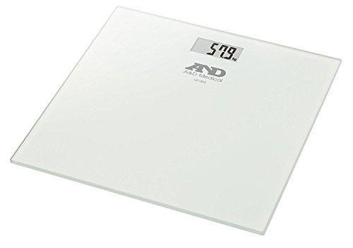 A&D Medical UC-502 Báscula de Baño Digital de Alta Medición Precisa 180kg/400lbs, Plata