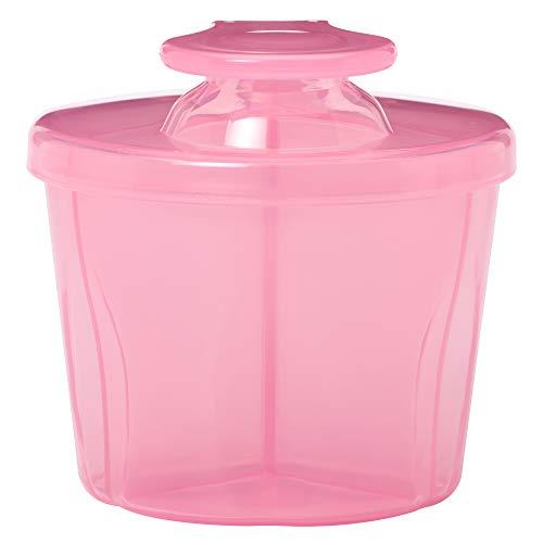 Dr Brown's Milchpulver-Behälter für 3 Portionen - Pink