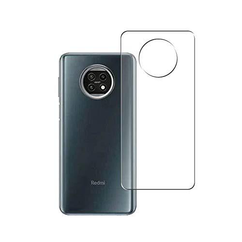 VacFun 2 Piezas Protector de pantalla Posterior, compatible con XIAOMI Redmi Note 9 5G, Película de Trasera de TPU