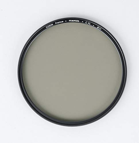 Filtro polarizador Circular Nuances 77 mm, Negro translúcido