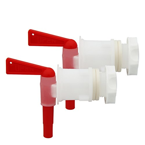 2 PACK Plastic Bottling Bucket Spigot tap faucet for Homebrew Wine Making Beer