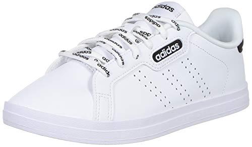 adidas COURTPOINT Base, Zapatillas de Tenis Mujer, FTWBLA/FTWBLA/NEGBÁS, 40 2/3 EU