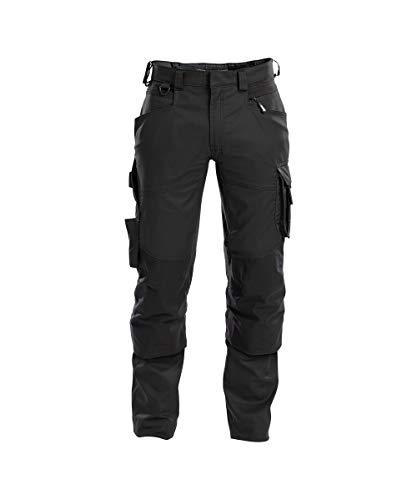 DASSY® Dynax Bundhose mit Stretch und Kniepolstertaschen DASSY D-FLEX PESCO 41 SCHWARZ 52