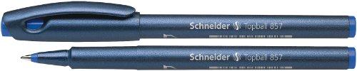 Schneider Tintenroller Topball 857 - stahlblau/blau, 0,6 mm,