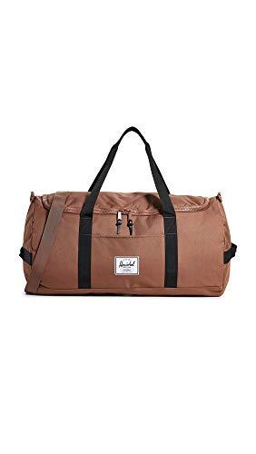 Herschel Sutton Duffel Bag, Saddle Brown/Black, One Size