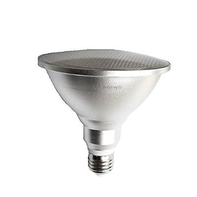 Anyray LED PAR38 E26 (90-Watt Equivalent) E27 10W Flood Light Dimmable IP65 Wet Location