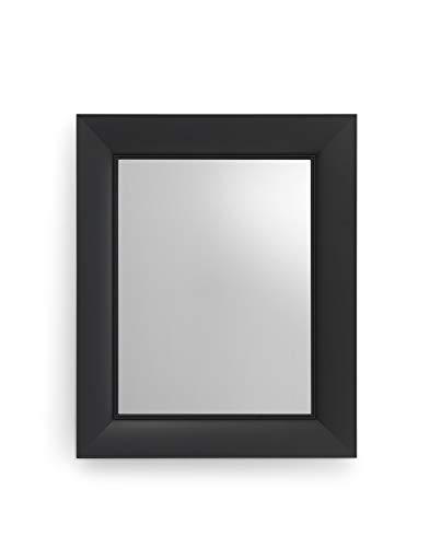 Kartell Francois Ghost, Miroirs Muraux, 65 X 79cm, Noir Couvrant Opaques