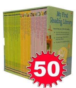 Compare Textbook Prices for Usborne My First Reading Library 50 Books Set Collection - Read At Home  ISBN 0752423332465 by Various