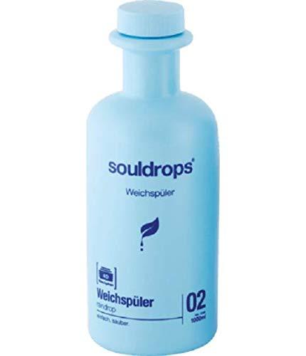 Souldrops Regentropfen-Weichspüler, 2 l, 4 Stück
