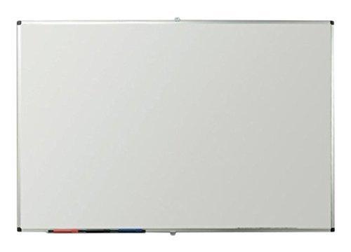 VIZ-PRO Porcelain Magnetic Dry-erase Whiteboard, 48 X 36 Inches, Silver Aluminiuim Frame