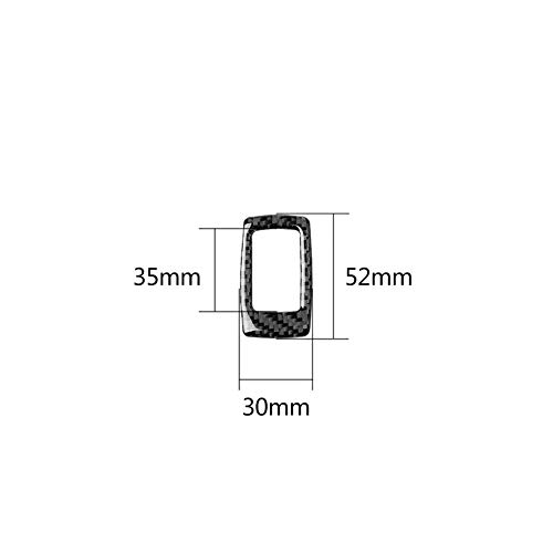 Car Trunk Switch Panel Cover Trim, Morechioce Carbon Fiber Car Interior Accessories Replacement Fit for BMW G20 G28 325 Li 330D 335 2019-2020 Car Interior Decoration