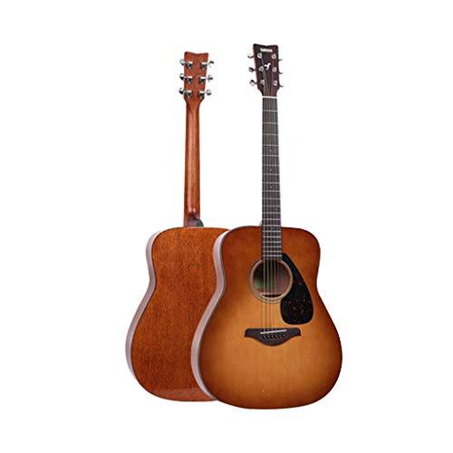 Instrumentos musicales Guitarra eléctrica Yamaha Fg800 Junta Folk eléctricos Box Principiante Hombres...