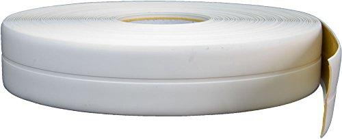 Knickwinkelleiste, PVC, 25m, weiß, selbstklebend