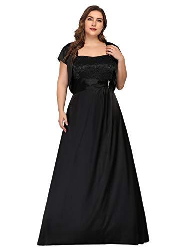 Vestido De Noche De Talla Grande Vestido De Dos Piezas Vestido Bandeau...