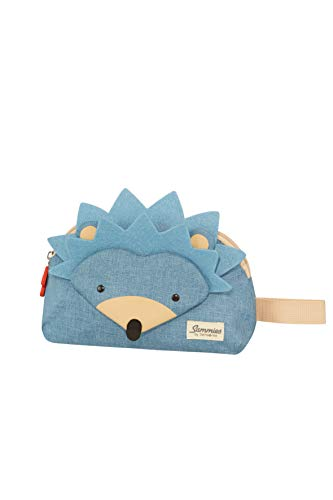Samsonite Happy Sammies - Kulturtasche, 24 cm, 2 Liter, Blau (Hedgehog Harris)