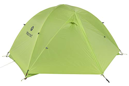 Marmot Crane Creek 3-Person Ultra Lightweight Backpacking and Camping Tent, Macaw Green/Crocodile
