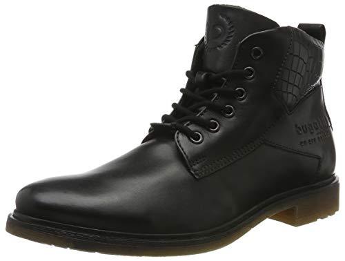 bugatti Herren 3113773B1000 Klassische Stiefel Kurzschaft Stiefel , Schwarz , 43 EU