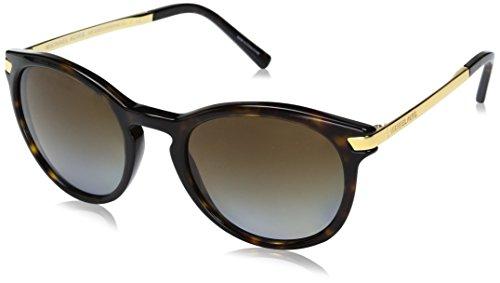 Michael Kors Damen Adrianna Iii 3106T5 53 Sonnenbrille, Gold (Dk Tortoise/Gold/Browngradientpolarized)