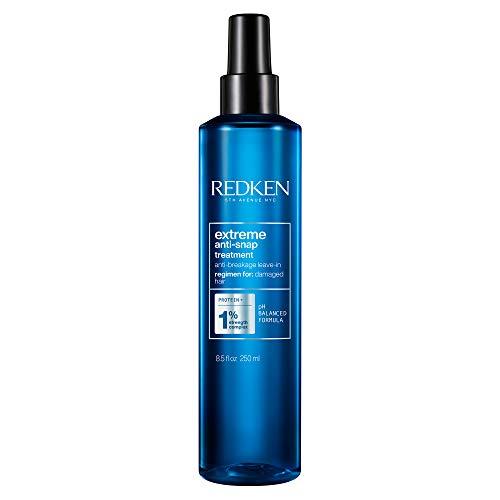 Redken Extreme Anti-Snap Leave-In Hair Treatment, Hitzeschutz-Creme Kur, Intensivpflege gegen Spliss und Haarbruch, für strapaziertes Haar, Haar-Kur ohne Ausspülen, 240 ml
