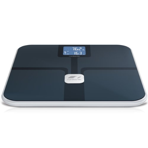 Runtastic Libra Bluetooth Smart Scale and Body Analyzer, Black