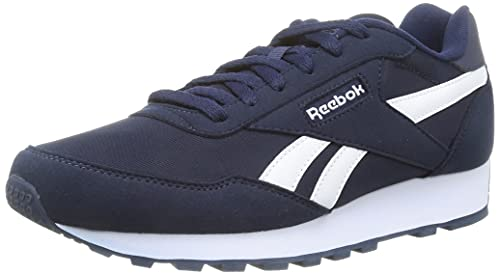 Reebok Rewind Run, Scarpe da Running Unisex-Adulto, Blu/Bianco (Vecnav Blanco Vecnav), 41 EU