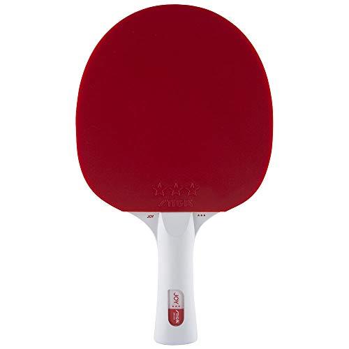 STIGA BAT JOY Red/White - Racchetta da ping pong unisex, adulto, taglia unica